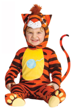 Tigerdräkt bebis 86 - 92cm (1 - 2år)