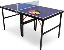 Mini-pingisbord med nät, 2 racket & bollar