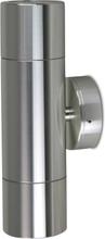 Väggspotlight 21cm dubbelriktad - Titanium