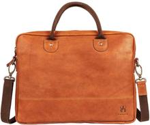 Laptop Väska Tan i skinn