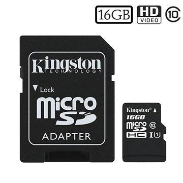 Kingston Canvas Select MicroSDHC Hukommelseskort SDCS/16GB - 16GB
