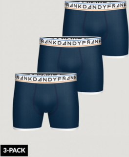Frank Dandy, 3 Pack Boy's St Paul Boxer, Blå, Undertøy för Gutt, 16 år