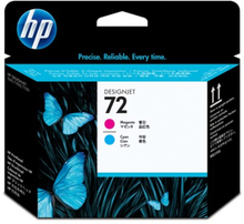 Hp Printerhoved No.72 Magenta & Cyan - T1100