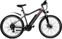 """Elcykel Mountainbike 27.5"""" Tomahawk Pro - Grafitgrå"""