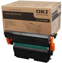 Oki Tromle Sort Inkl Belt - C110/c130/mc160