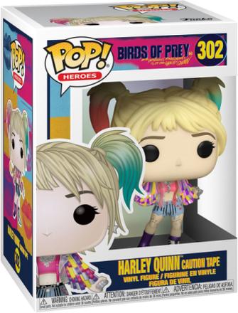 Birds Of Prey - Harley Quinn Caution Tape vinylfigur 302 - Funko Pop! Figure - multicolor