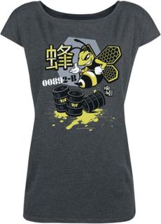 Breaking Bad - Bee Ink -T-skjorte - mørkegrå melert