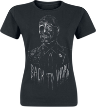 Breaking Bad - Gustavo - Back To Work -T-skjorte - svart