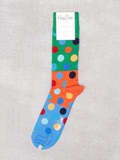 Happy Socks Big Dot Block Sock Strumpor Prickig