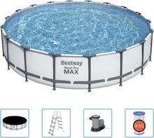 Bestway Steel Pro MAX swimmingpoolsæt 549x122 cm