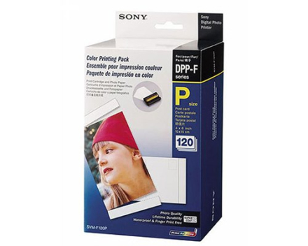 Sony Paper Photo 10x15cm 120 Sheet SVM F120P - DPP-FP-Series (SVMF120P.SYH)