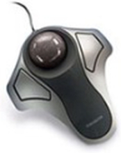 Kensington Orbit Optical Trackball Pallohiiri Langallinen Musta, Hopea