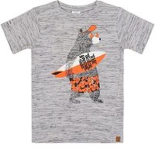 Hust & Claire - Alwin T-shirt - Pearl Grey melange