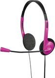 HAMA PC-Headset HS-101 Rosa Svart