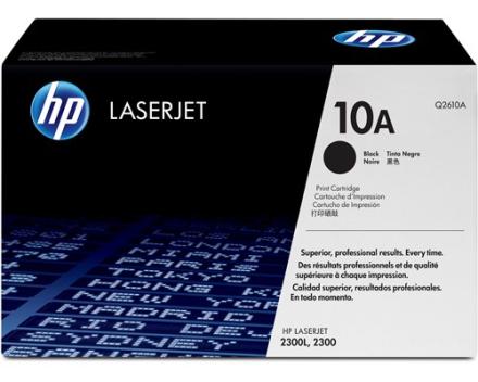 HP Toner Sort 6K - Q2610A (Q2610A)