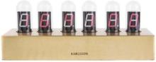 Cathode Table Clock
