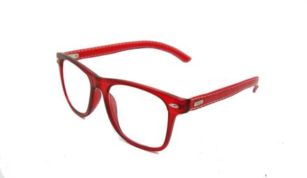 Cavok Läsglasögon med grad A lins 1.0, Röd