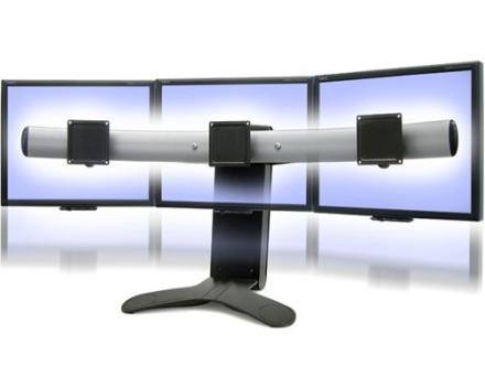 Ergotron LX Triple Display Lift Stand (33-296-195)