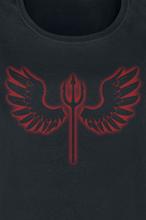 Engel eller djevel - -T-skjorte - svart