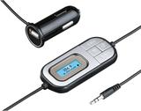 HAMA FM-sändare för Bil 12V Kopplas med 3,5mm