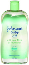 Johnson's Baby Oil Aloe Vera 500 ml