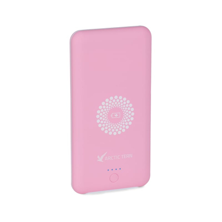 Arctic Tern Wireless Powerbank 10 000 Laddare Rosa OneSize