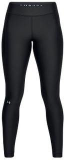 Under Armour HeatGear Armour Leggings Sort polyester Medium Dame