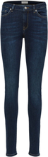 SELECTED Mid Waist - Skinny Fit Jeans Women Blue