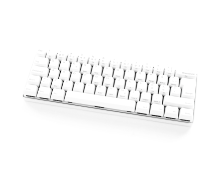 POK3R PBT Mechanical Keyboard White [MX Blue]