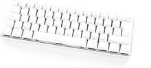 POK3R PBT Mechanical Keyboard White [MX Clear]