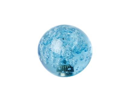 Crystal Ball Top med Bubblor - Blå