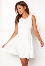 Chiara Forthi Marla pearl dress White 36