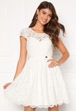 Chiara Forthi Guidia lace dress White 42