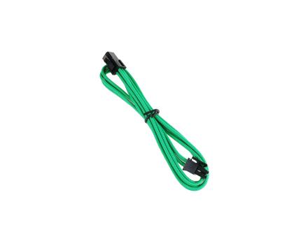 4-Pin ATX12V Förlängningskabel 45cm - Sleeved Green/Black