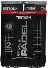 Tretorn Serie+ Padel 3 Tube 2 Pack Padel YELLOW