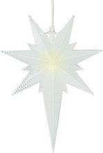 Julstjärna i metall Betlehem 35cm