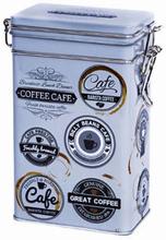 Kaffeburk med knäpplock Barista 500 g
