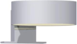Dansani Venus spejllampe til Dansani spejle med lysstyring, Ø10 cm, krom
