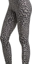 Flattering Printed tights, Greige spot / S