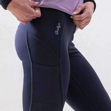 Fitness tights, Mörkblå / XS