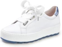 Sneakers i 100% skinn från Gabor Comfort vit