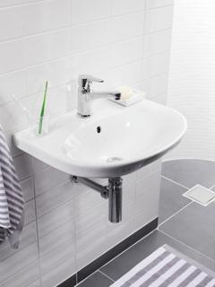 Gustavsberg Tvättställ Nautic 5560 med Blandare