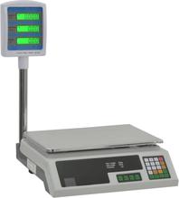 vidaXL elektronisk pakkevægt med LCD 30 kg