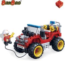 BanBao Brandkårens Jeep 7106