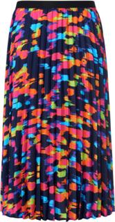 Plisserad kjol 100% polyester från Emilia Lay blå