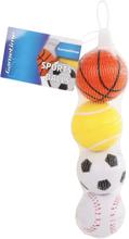Små Sportsbolde - 4 stk.