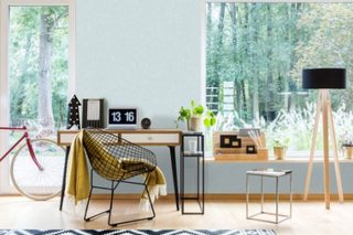 Superfresco Easy - Tapet non-woven - Aura Struktur tapet - Blå - 10mx52cm