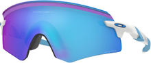 Oakley Encoder Glasögon Polished White/Prizm Sapphire