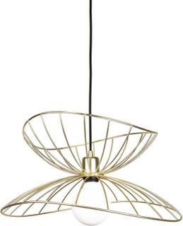 Globen Lighting, Taklampa Ray 45 Borstad Mässing