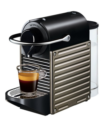 Nespresso Pixie Electric Titan - C60